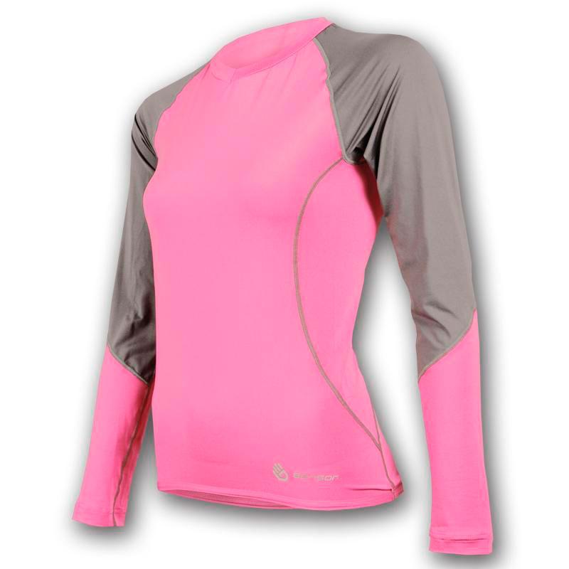 8d41a42942ab Dámske funkčné tričko Sensor Coolmax Fresh-ružové - Suncycle